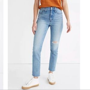 Madewell 27T Perfect Vintage Jean in Rosabelle